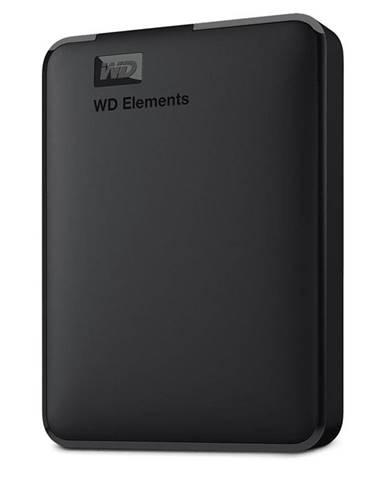 Externý pevný disk Western Digital Elements Portable 3TB čierny
