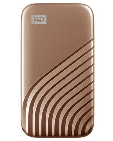 SSD externý Western Digital My Passport SSD 2TB zlatý