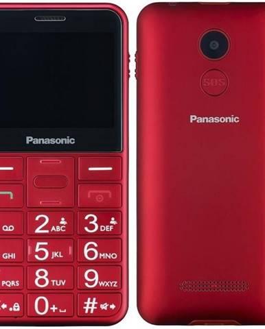 Mobilný telefón Panasonic KX-Tu150exr Dual SIM červený
