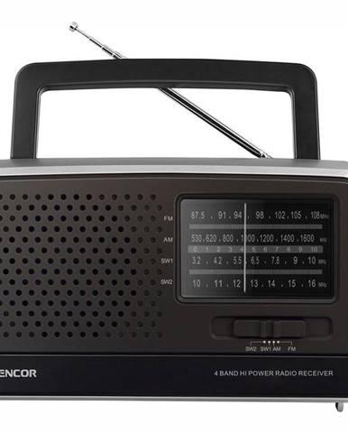 Rádioprijímač Sencor SRD 2806 čierny