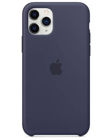 Kryt na mobil Apple Silicone Case pre iPhone 11 Pro - polnočno