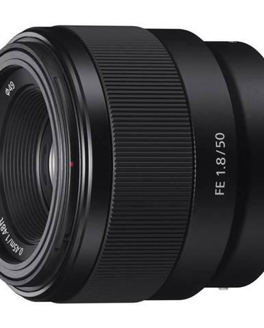 Objektív Sony FE 50 mm f/1.8 čierny
