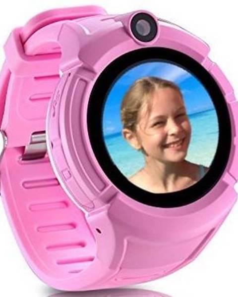 Carneo Inteligentné hodinky Carneo GuardKid+ GPS dětské ružové