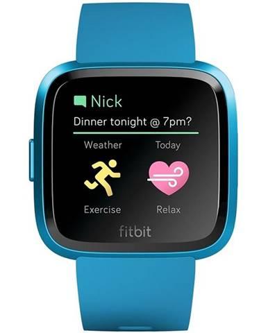Inteligentné hodinky Fitbit Versa Lite - Marina Blue Band / Marina
