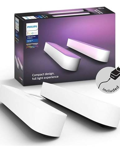 Stolové svietidlo Philips Hue Play White and Color Ambiance Double