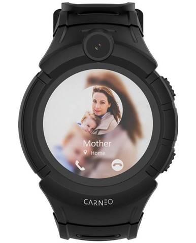 Inteligentné hodinky Carneo GuardKid+ GPS dětské čierne
