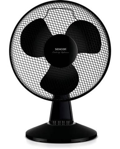 Ventilátor stolový Sencor SFE 4021BK  čierny