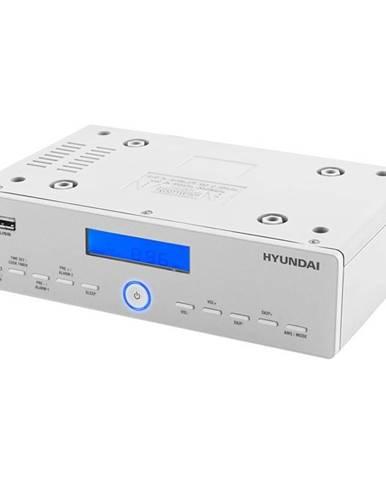 Rádioprijímač Hyundai KR 815Pllu strieborný/biely