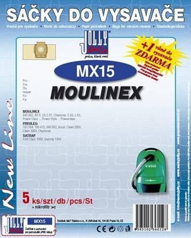 Sáčky pre vysávače Jolly MX 15