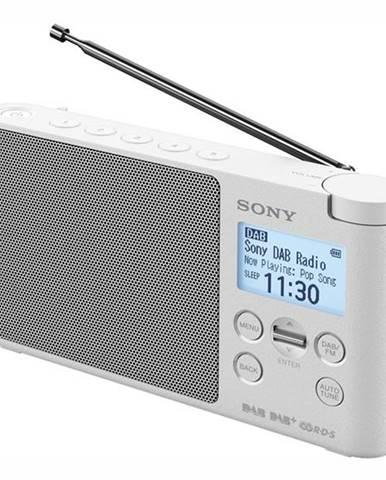Rádioprijímač s DAB+ Sony XDR-S41DW biely