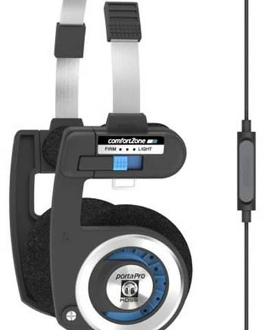 Slúchadlá Koss Porta Pro Microphone čierna