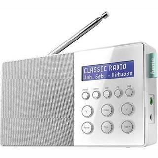 Rádioprijímač s DAB+ Hama DR10 biely
