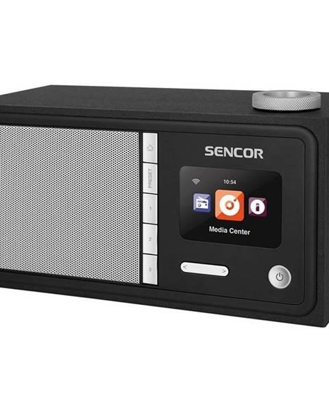 Sencor Internetový rádioprijímač Sencor SIR 5000WDB čierny