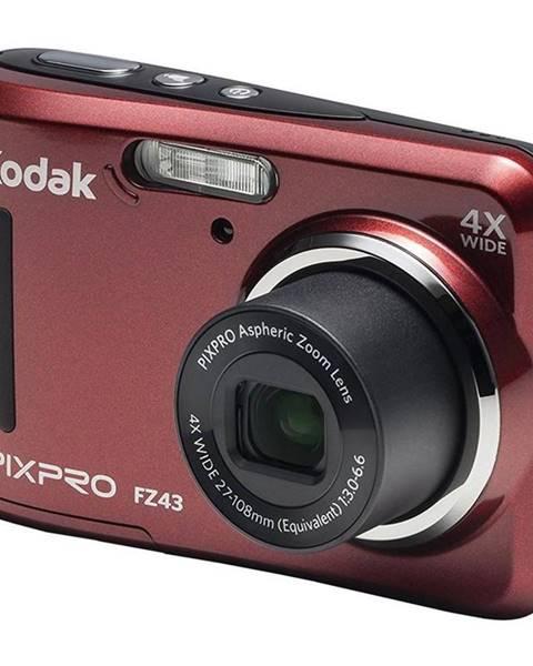 Kodak Digitálny fotoaparát Kodak Friendly Zoom FZ43 červený