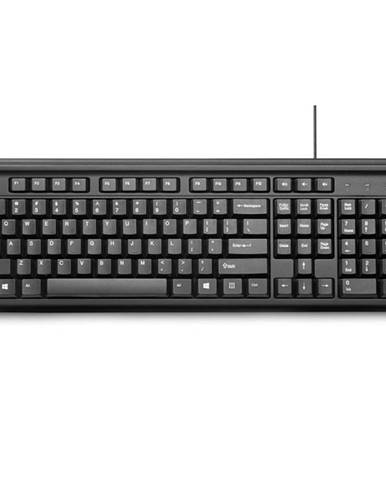 Klávesnica HP 100, CZ/SK layout čierna
