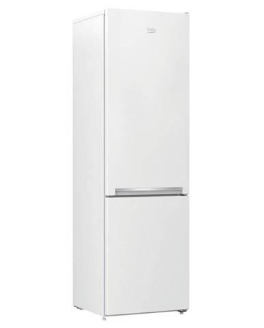 Kombinácia chladničky s mrazničkou Beko Rcsa300k30wn biela