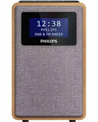 Rádioprijímač s DAB+ Philips TAR5005 dreven