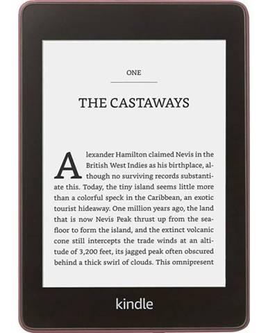 Čítačka kníh Amazon Kindle Paperwhite 4 2018 s reklamou fialová