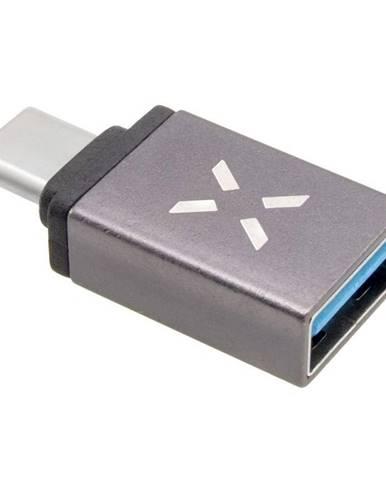 Redukcia Fixed Link USB-A/USB-C sivá