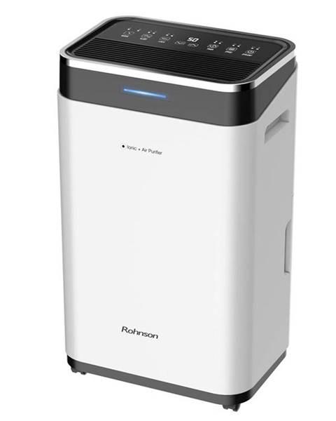 ROHNSON Odvlhčovač Rohnson R-9725 Ionic + Air Purifier čierny/biely