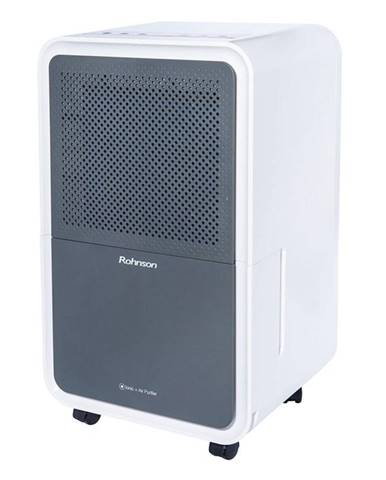 Odvlhčovač Rohnson R-9012 Ionic + Air Purifier sivý/biely
