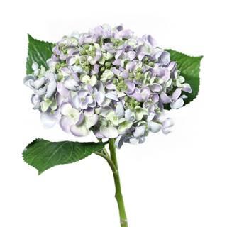 Umelá hortenzia svetlofialová, 44 cm