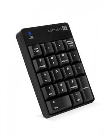 Bezdrôtová numerická klávesnica Connect IT CKB-0061-BK