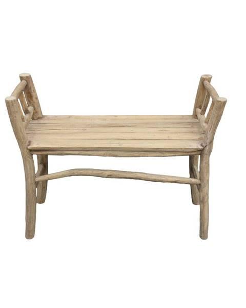 HSM collection Lavica z teakového dreva HSM collection Bench Pank