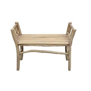 Lavica z teakového dreva HSM collection Bench Pank