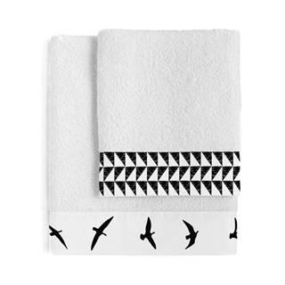 Súprava 2 bavlnených uterákov Blanc Trip