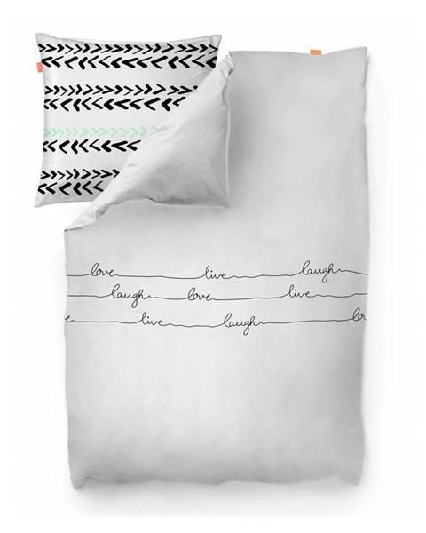 Blanc Bavlnená obliečka na paplón Blanc Live, 200 × 200 cm
