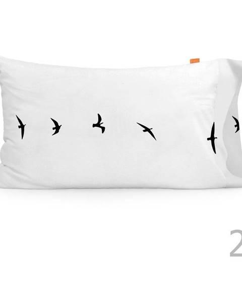 Blanc Súprava 2 bavlnených obliečok na vankúš Blanc Trip, 50 × 75 cm