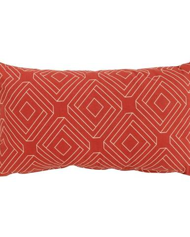 Červeno-oranžový záhradný vankúš Hartman Bibi, 30 x 50 cm