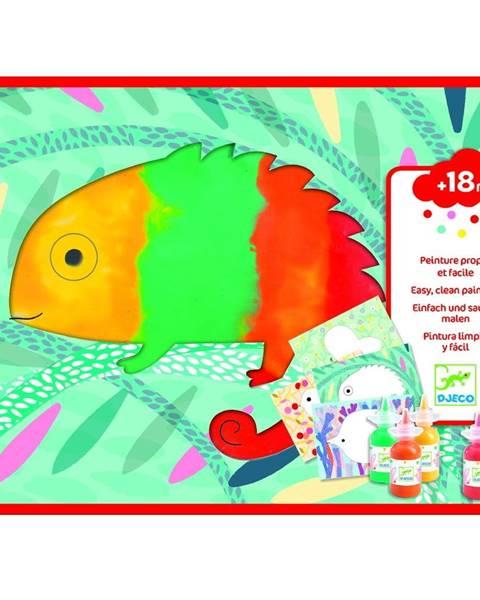 Djeco Kreatívny set pre maľovanie prstami Djeco Animals