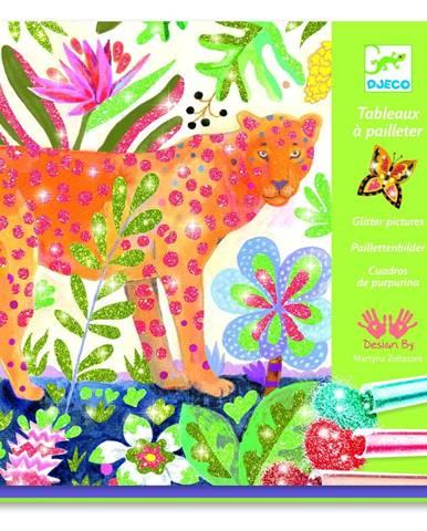 Výtvarný set na pieskovanie Djeco Tropical Animals