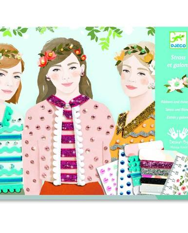Kreatívny set Djeco Fashion Girls