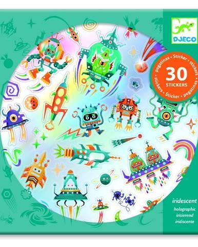 Sada 30 samolepiek Djeco Space