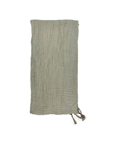 Södahl Zelený bavlnený pléd na dvojlôžko Södahl Poetry, 200 x 260 cm