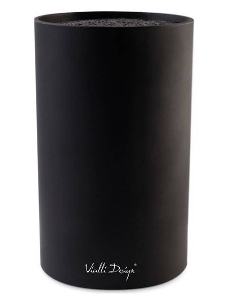 Vialli Design Čierny blok na nože Vialli Design Universal