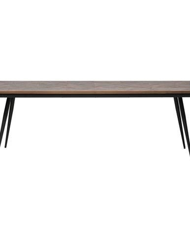 Jedálenský stôl z akáciového dreva BePureHome Rhombic, 220×90 cm