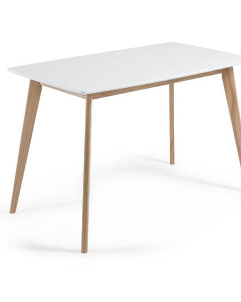 La Forma Jedálenský stôl z jaseňového dreva La Forma Unit, 140 x 80 cm
