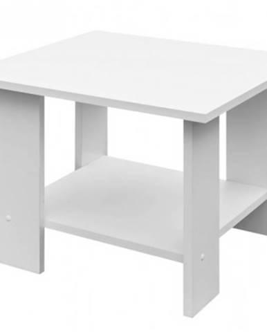 Konferenčný stolík Lena, biely%