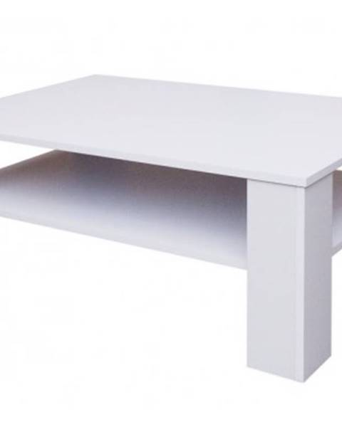 ASKO - NÁBYTOK Konferenčný stolík Doux, biely%