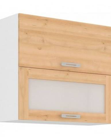 Horná kuchynská skrinka Iconic 80GUS-72, buk iconic, šírka 80 cm%