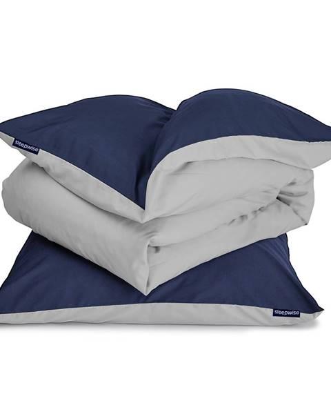 Sleepwise Sleepwise Soft Wonder-Edition, posteľná bielizeň, tmavomodrá, 135 x 200 cm, 80 x 80 cm