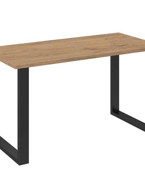MERKURY MARKET Jedálenský stôl Imperial 138x67 dąb lancelot