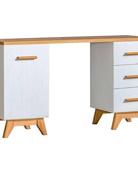 MERKURY MARKET Písací stôl D Sven SV12 Nash/borovica Andersen