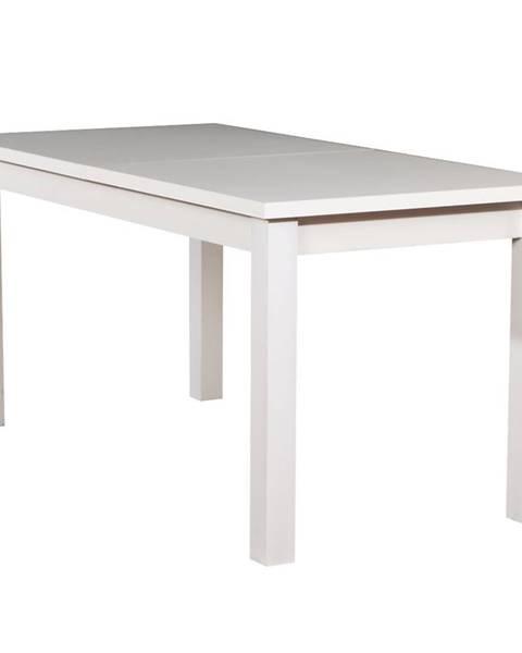 MERKURY MARKET Stôl ST28 160X80+40 biely