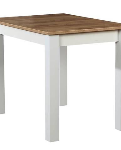 Stôl ST29 100X70 dub wotan/biely