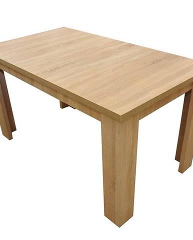 Jedálenský stôl  ST31 140 x 80+40 L Sonoma D